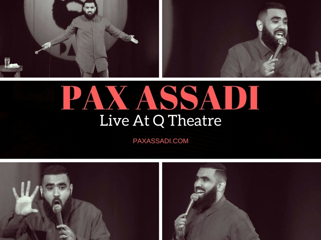 Pax Assadi Live at Q Theatre