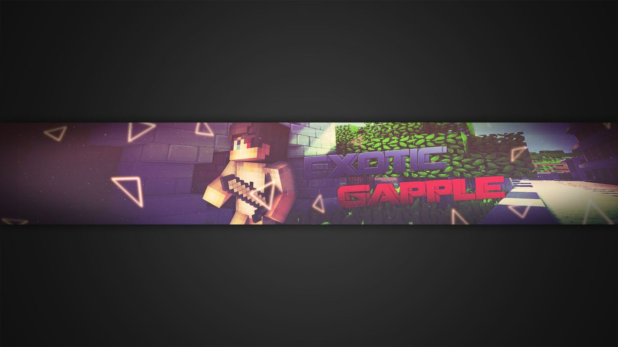 Minecraft Youtube|Banner