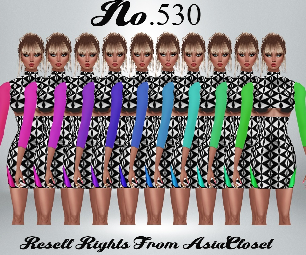 No. 530 Dress Catty Only!!!