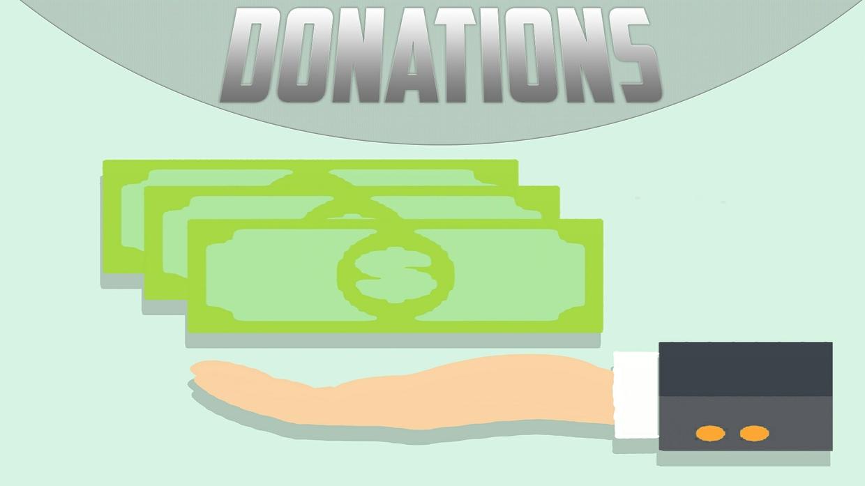 DONATIONS!