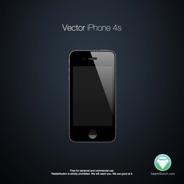 Vector iPhone 4s