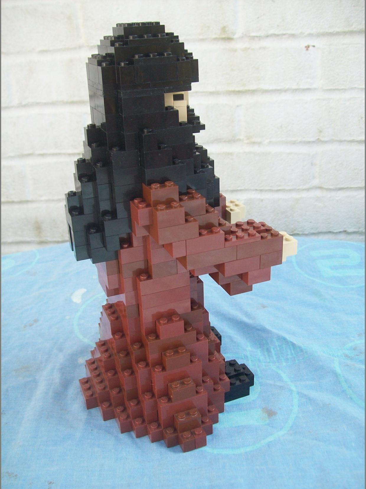 Instructions for Large Lego Harry Potter Hagrid Figure