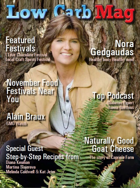 Low Carb Mag November  2016 - The World's Most Loved Low Carb Magazine
