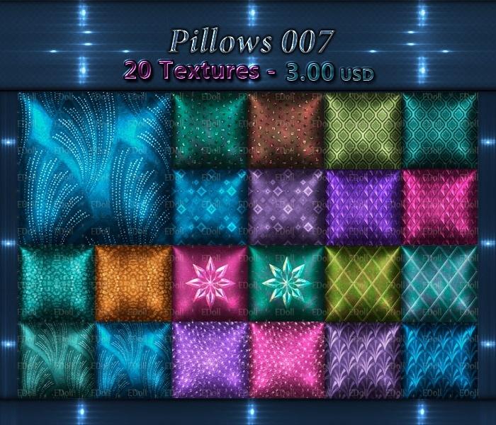 Pillows 007 Eternitydoll Sellfy Com