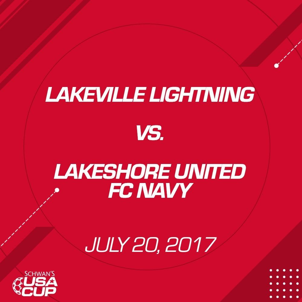 Girls U15 Gold - July 20, 2017 - Lakeville Lightning vs Lakeshore United FC Navy