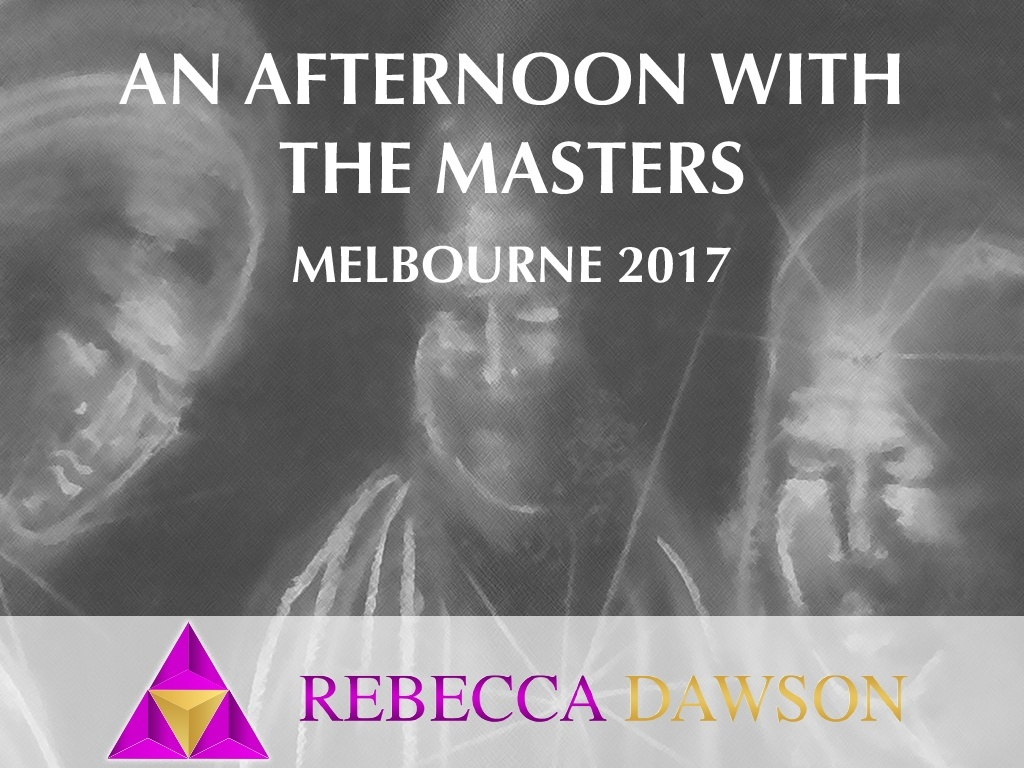 An Afternoon with the Masters - Melbourne 2017
