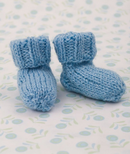 Snuggly Baby Booties