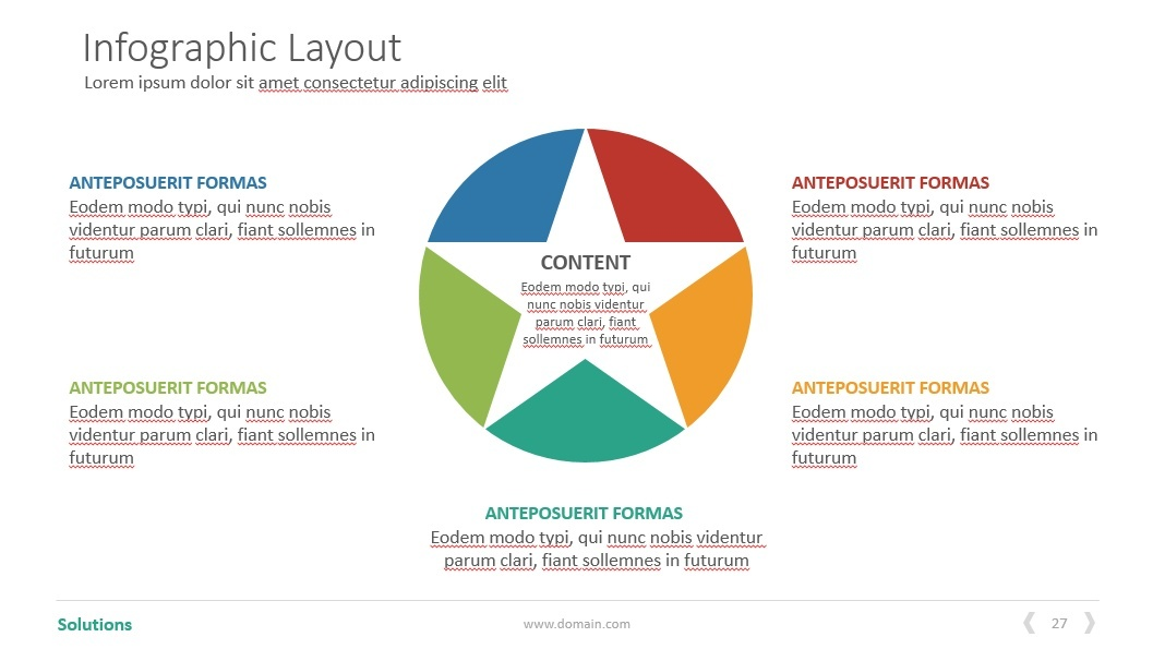Solutions PowerPoint presentationTemplate