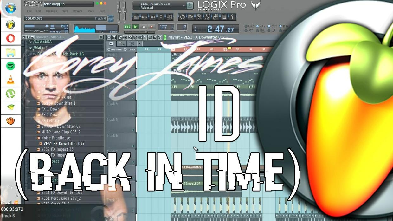 Corey James - Back In Time (REMAKE FL STUDIO)