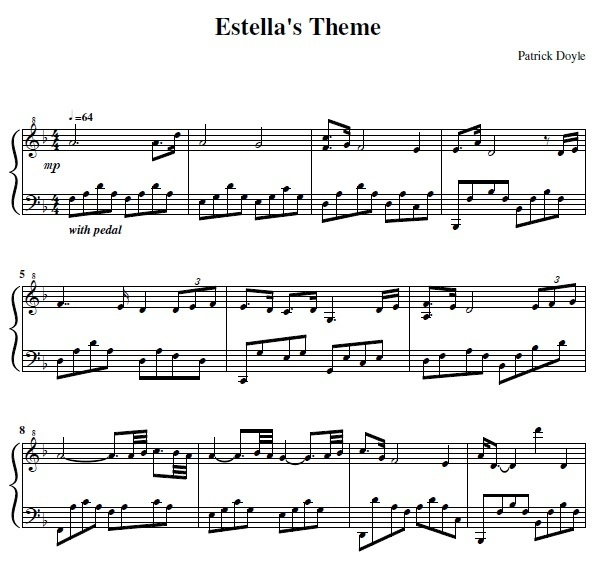"Estella Theme from ""Great Expectations"""