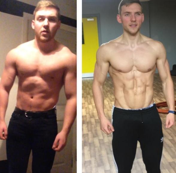 Male - Phase 2 Muscle Gain - Intermediate.
