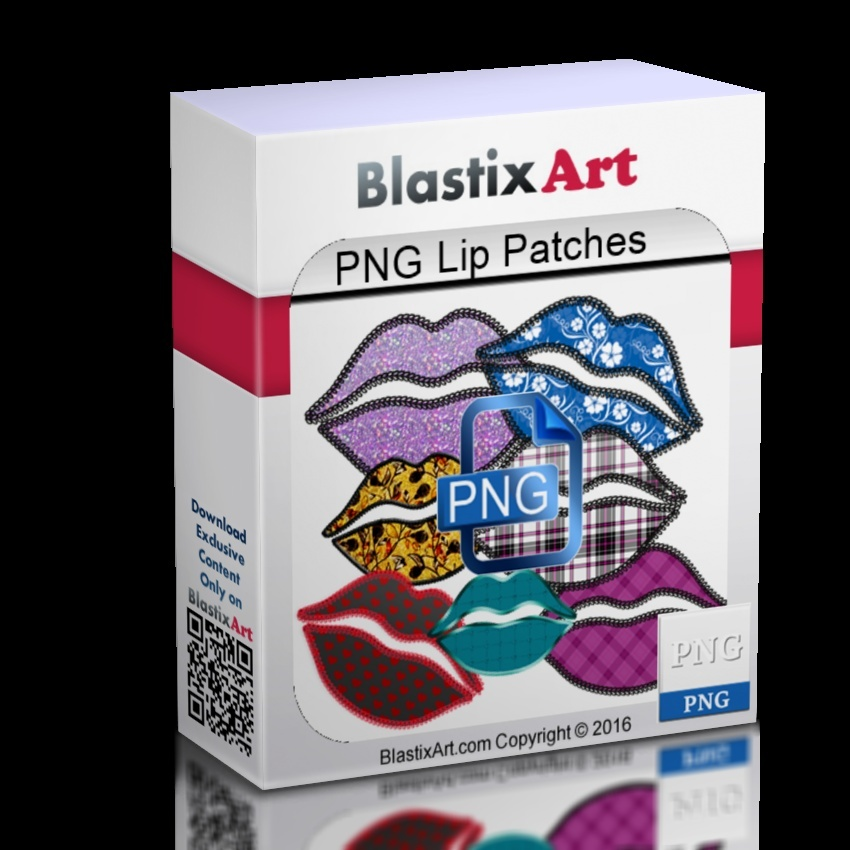 Png lip patches