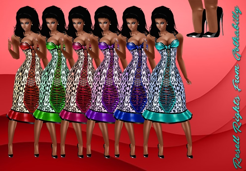 Rockabilly 6 Color Dresses And Shoes Catty Only!!!