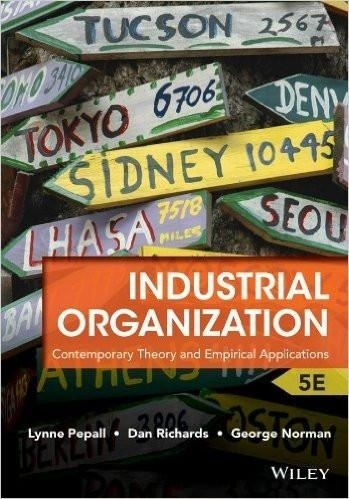 Industrial Organization Contemporary Theory.. 5th Edition ( PDF , Instant download )