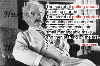 Mark Twain's Picture Quote ( #012 )
