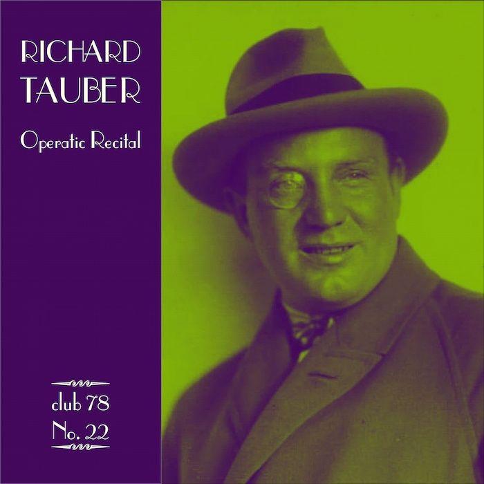 Richard Tauber * club 78 No. 22