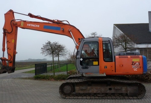 Hitachi ZAXIS 160LC-3 Excavator Parts Catalog Download