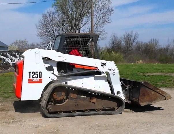 Bobcat T250 Compact Track Loader Service Repair Manual (S/N 531811001 & Above, 531911001 & Above )