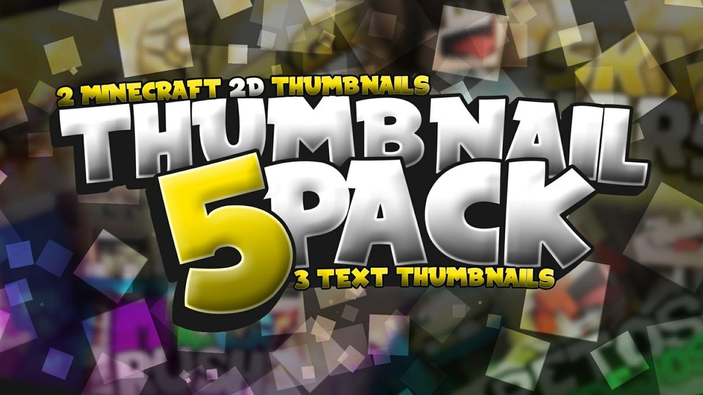 Thumbnail Pack // 5 Miniaturas 2D