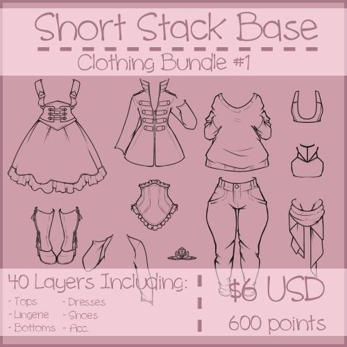 Short Stack Clothing Bundle #1