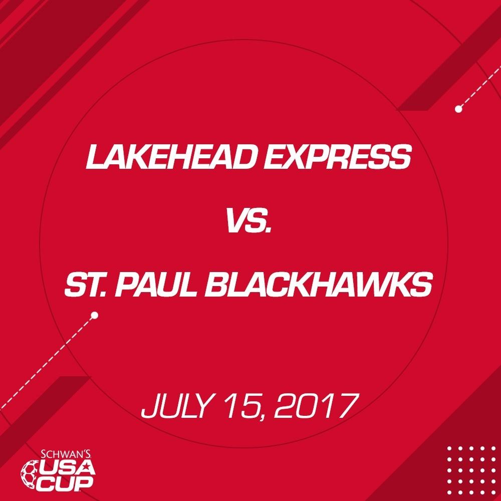 Girls U13 - July 15, 2017 - Lakehead Express V. St. Paul Blackhawks