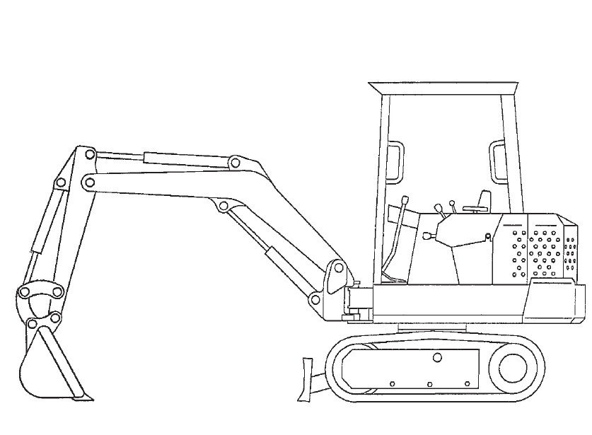 Bobcat 329 Compact Excavator Service Repair Manual Download(S/N A2PG11001 & Above)