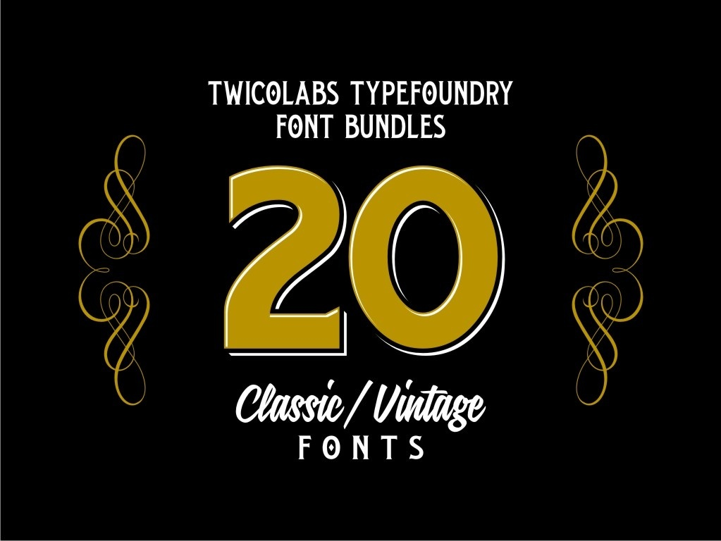 Twicolabs Font Bundle 1