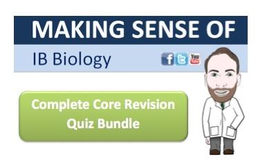 IB Biology Complete Core Revision Quiz Bundle