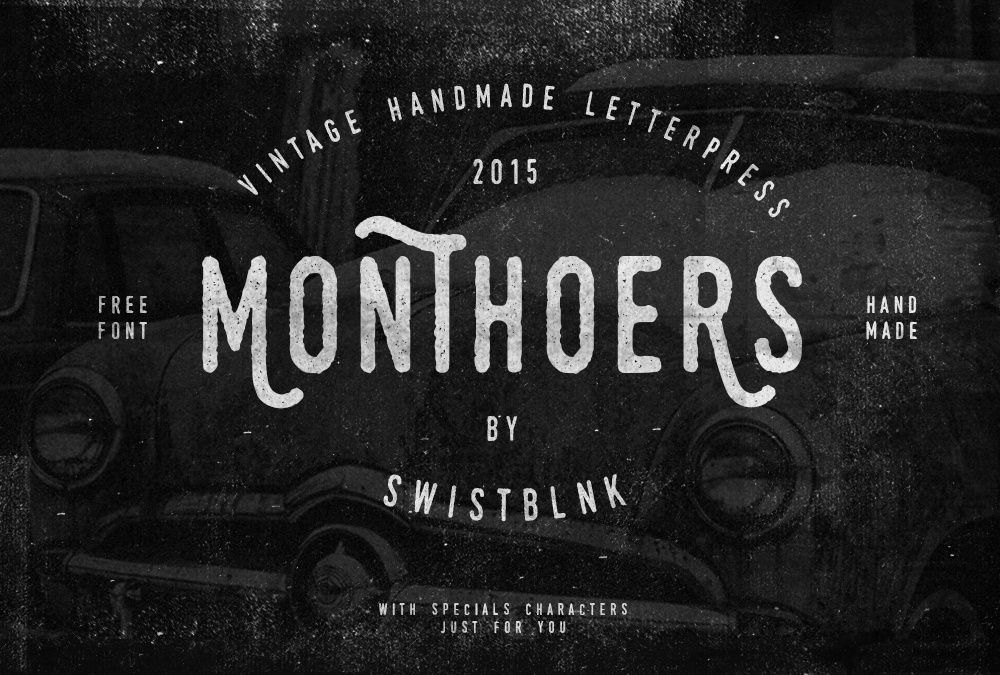 Monthoers Free Font