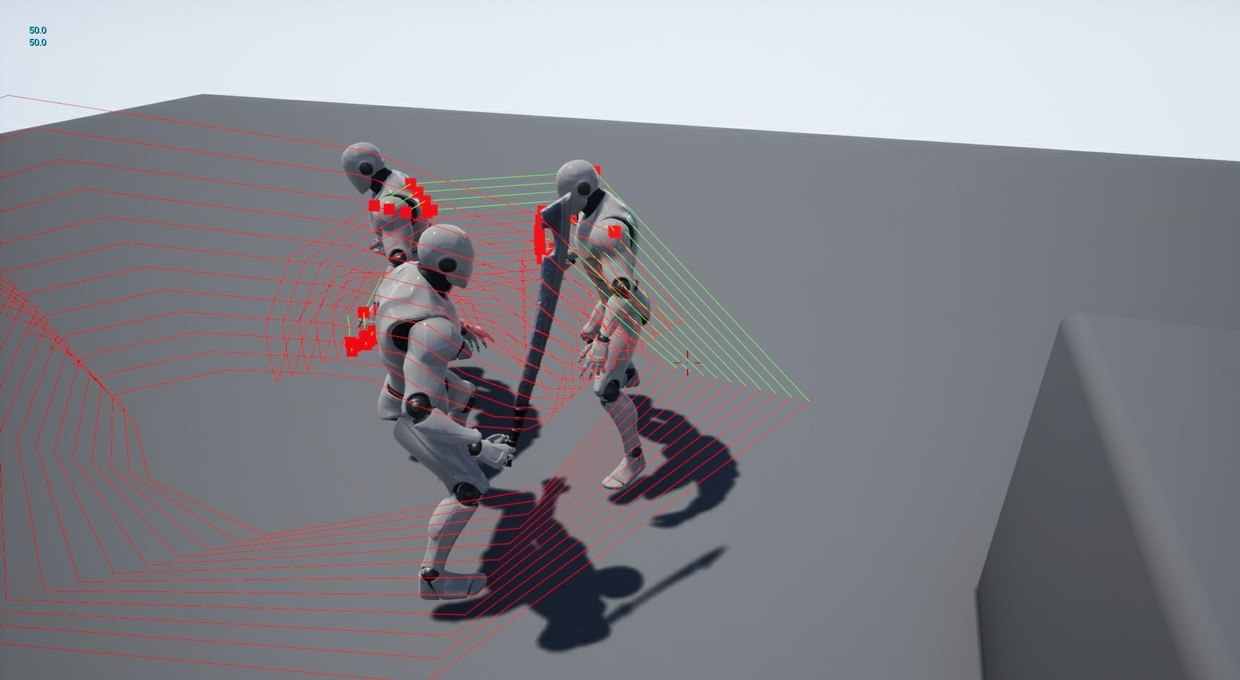 Melee Weapon Tracing System