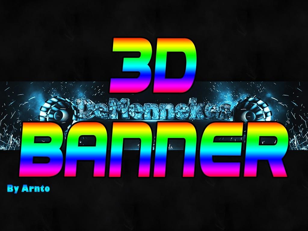 Custom 3D Banner
