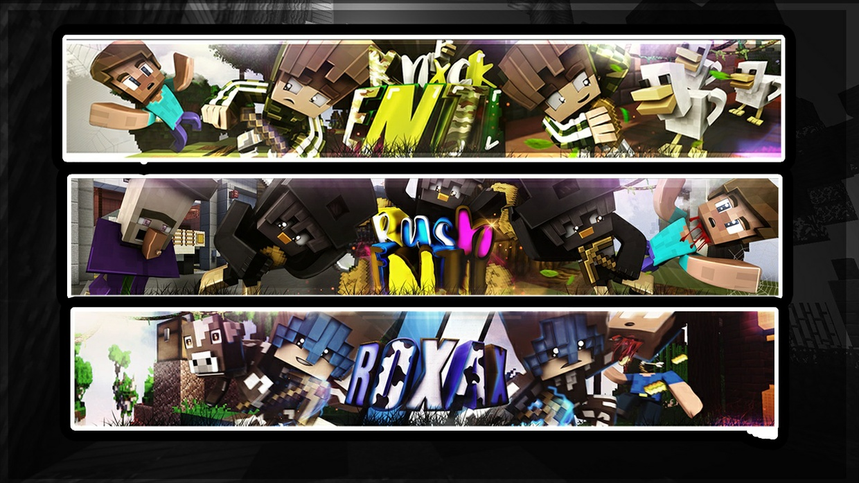 Minecraft Banner (+ Profilbild) (CLOSE!!!!) (BREAK) I want to finish my orders!