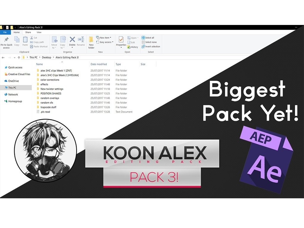 Koon alex: Full Editing Pack 3!