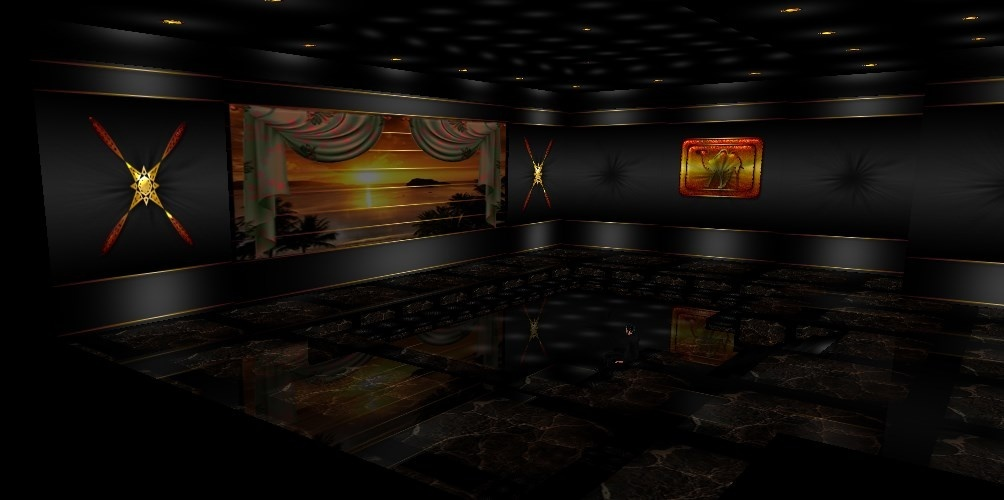 Egyptian 25 textures room