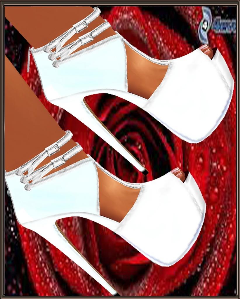 heels rosio de diamante