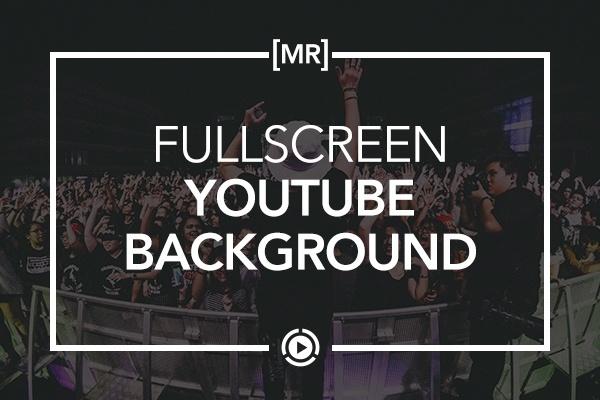 Full Screen YouTube Video