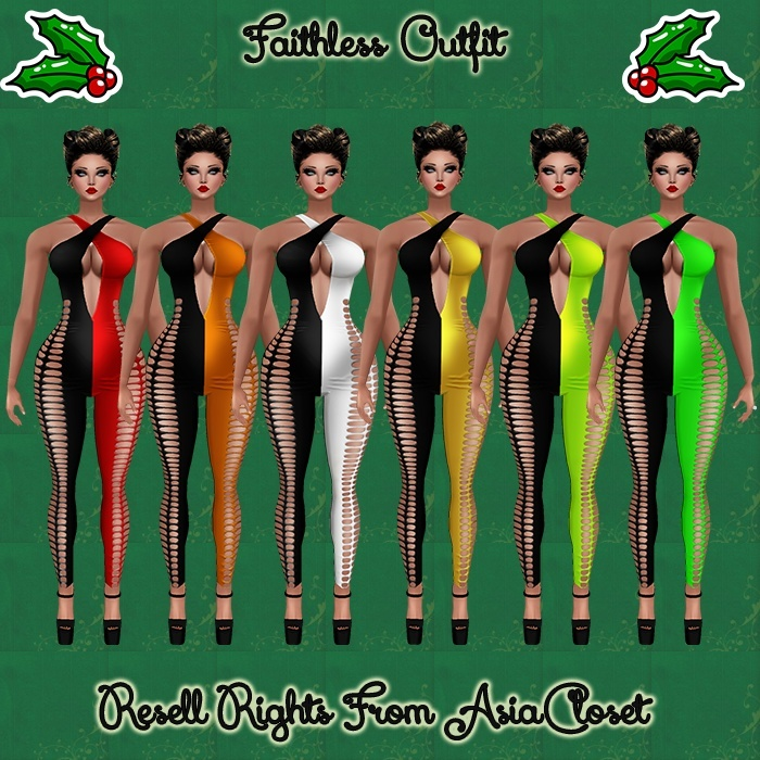 Faithless Outfit Bundle Catty Only!!!