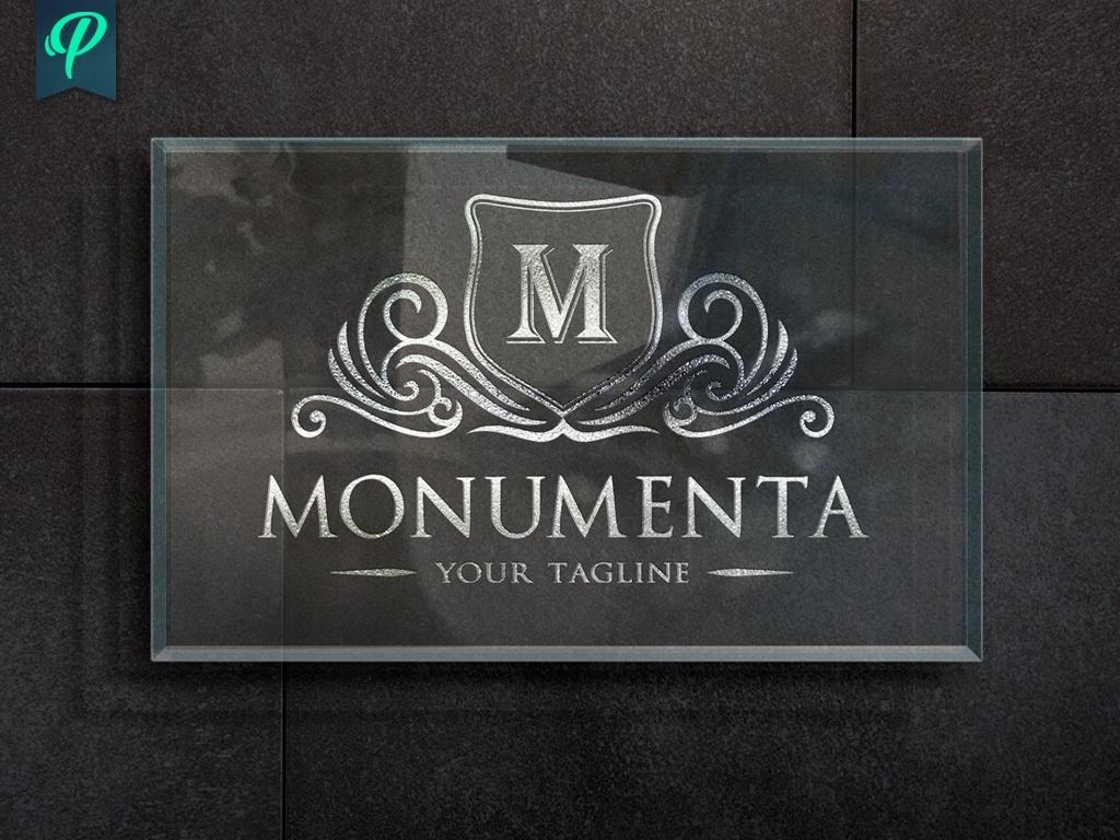 Monumenta - Crest Logo Template