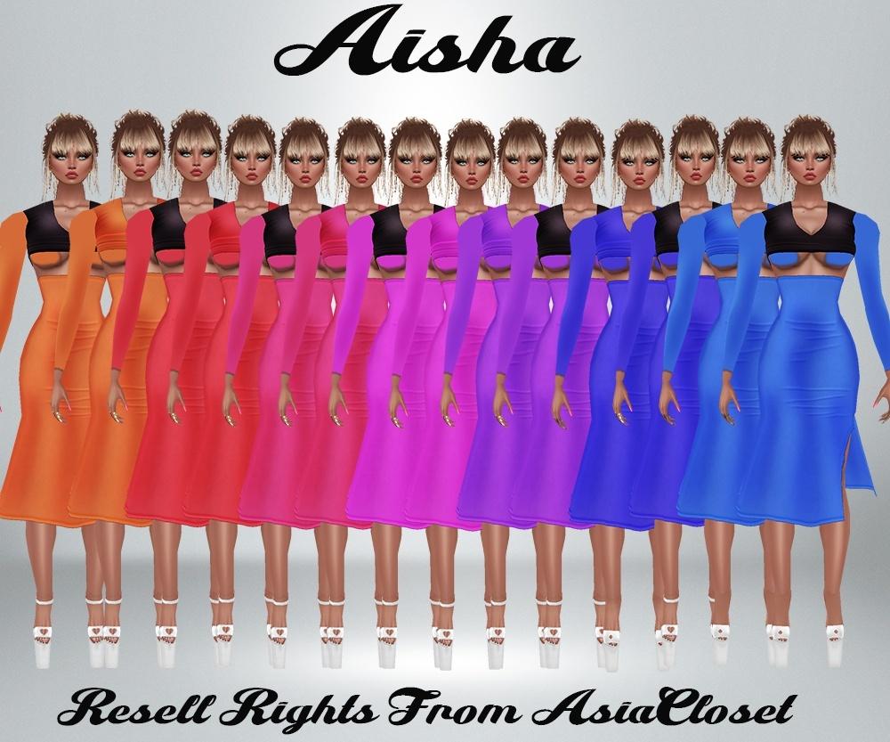 Aisha Dress Catty Only!!!