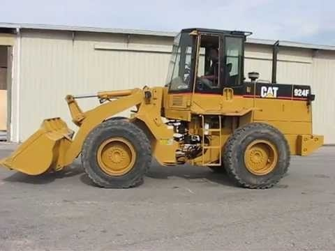 Cat Caterpillar 924F Wheel Loader Repair Service Manual Pdf