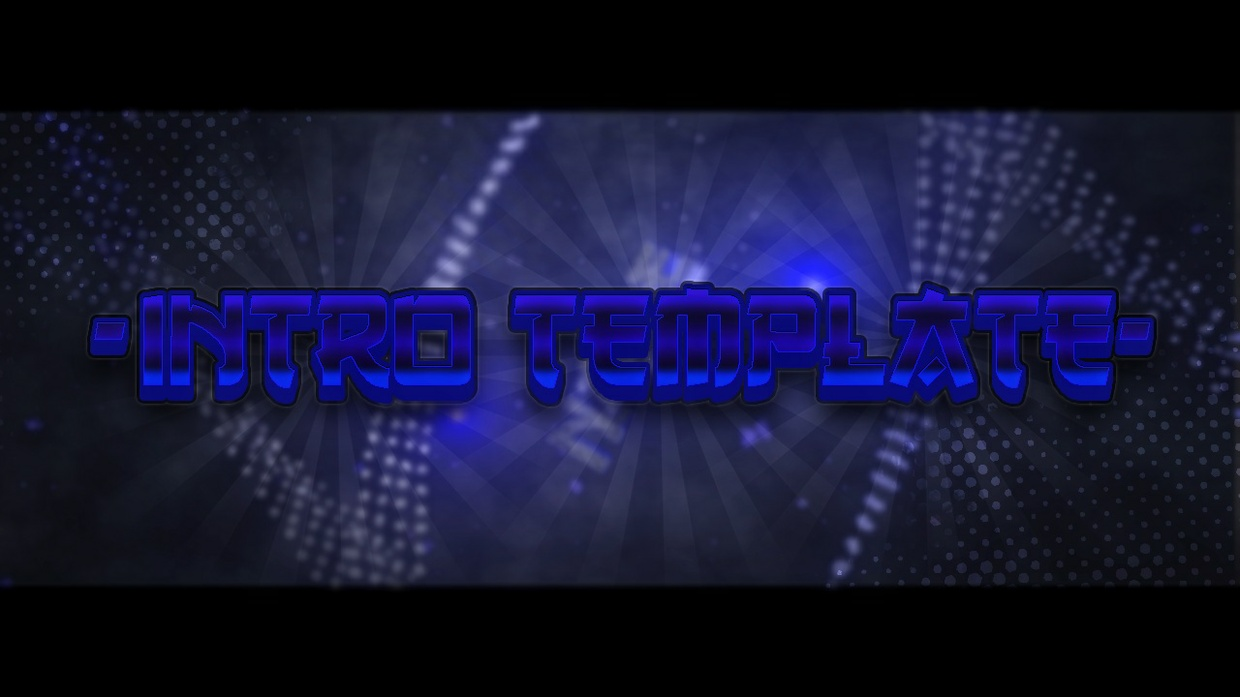 INTRO TEXT TEMPLATE! ♥ 1080P 60FPS