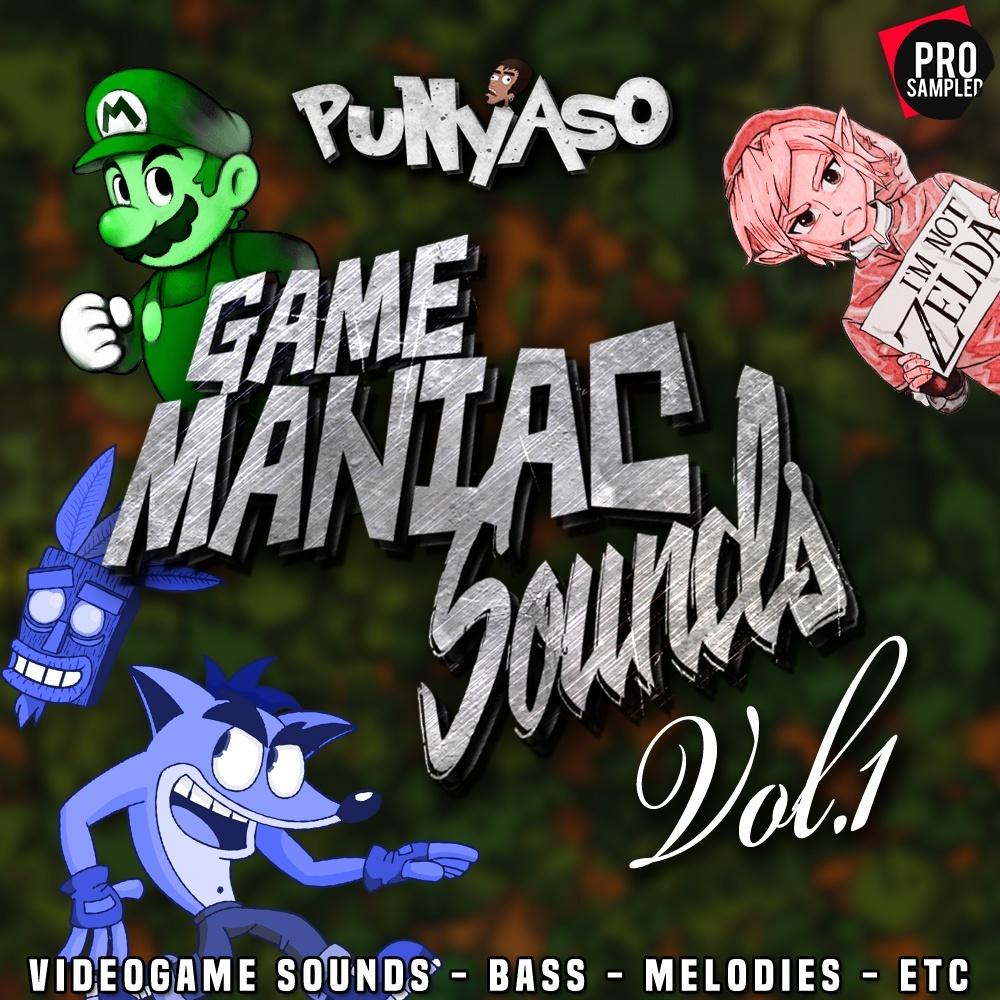 PUNYASO - Game Maniac Sounds VOL.1