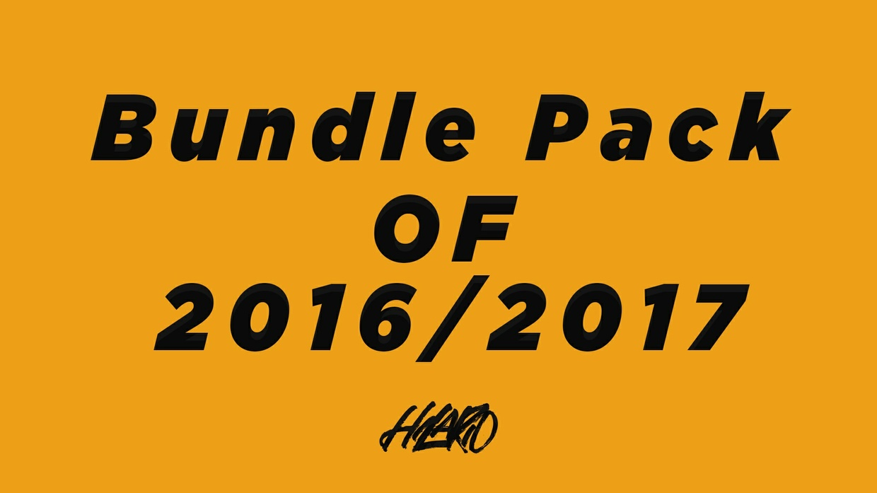 BUNDLE FINAL PACK - 2016 et 2017