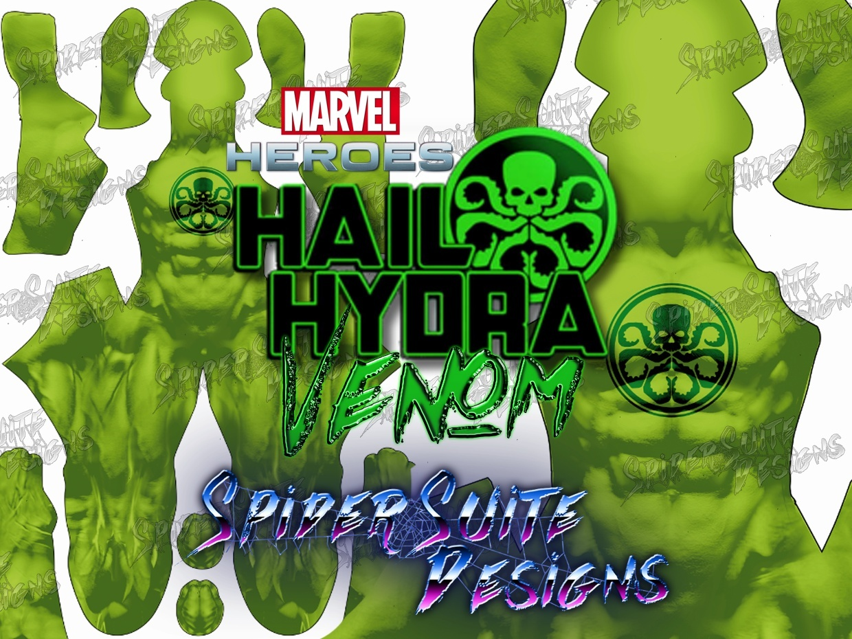 Marvel Heroes Hydra Venom 2017 Pattern