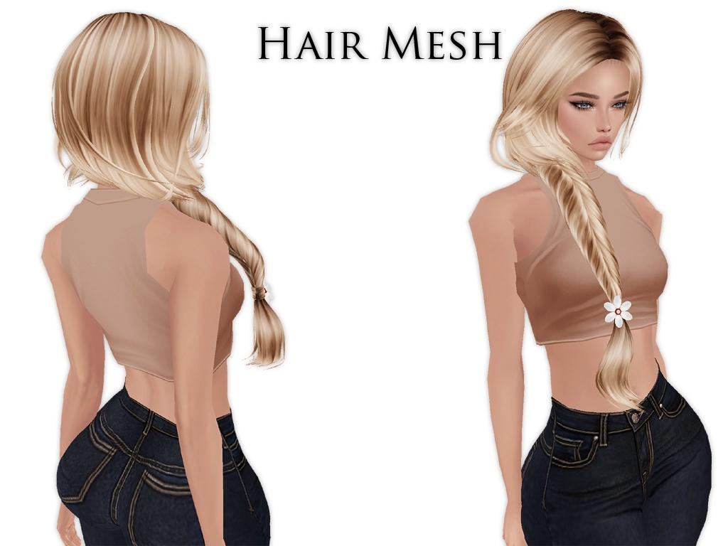 IMVU Mesh - Hair - Vanessa
