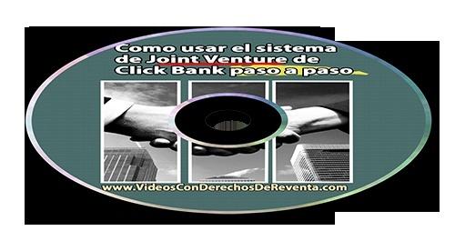 Generar Ingresos en ClickBank con el Metodo Joint Venture