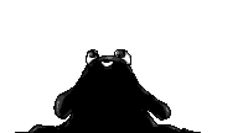 Animated Ink Blob Transition