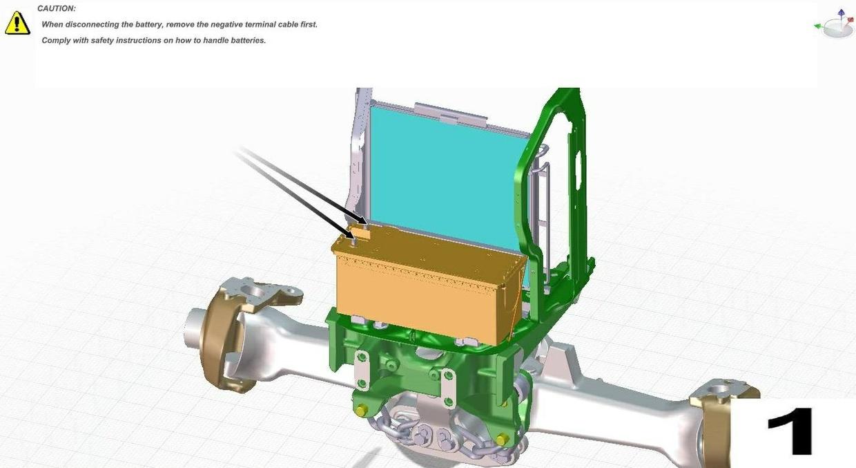 John Deere 6830 & 6930 Premium (European Edition) Tractors Service Repair Manual (TM8024)