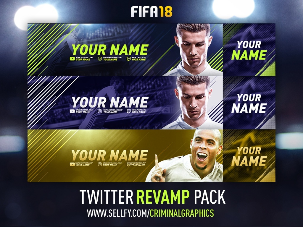 FIFA 18 TWITTER REVAMP