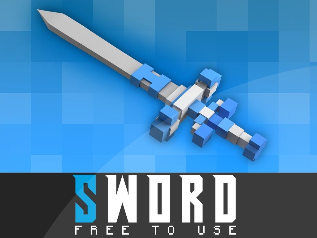 BaumBlau's Free SWORD RIG C4D